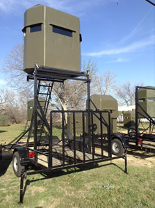 Trailer Mounted Deer Stand