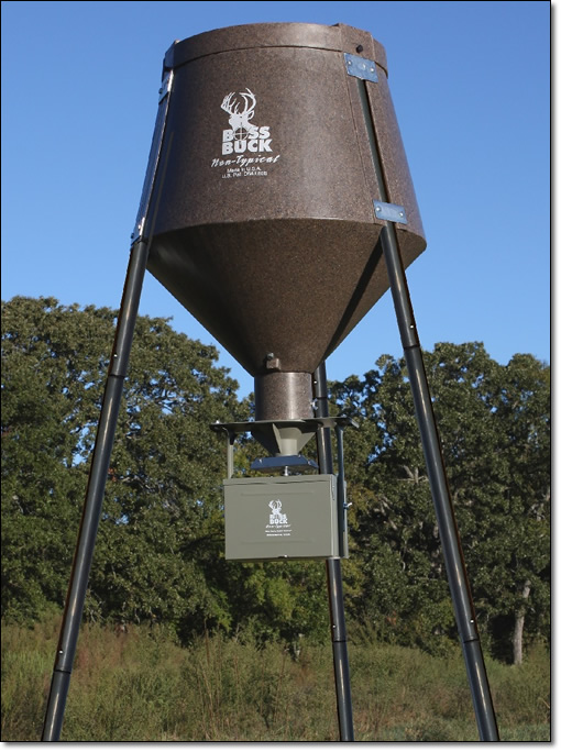 Boss Buck Deer Feeders Offers A Complete Line Of Deer Feeders