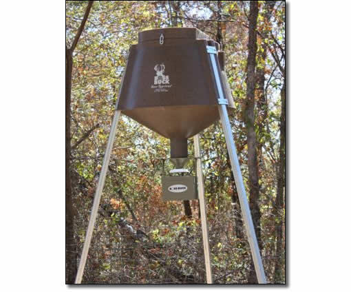 The most durable, high feed capacity, automatic deer feeder