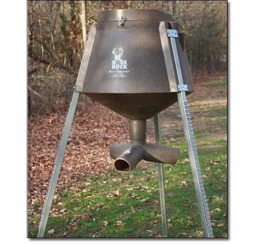 Protein Wildlife Gravity Feeders from BOSS Buck Game Systems