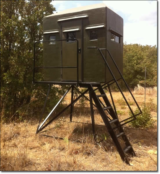 4 x 6 Side Entry Texas Deer Stands