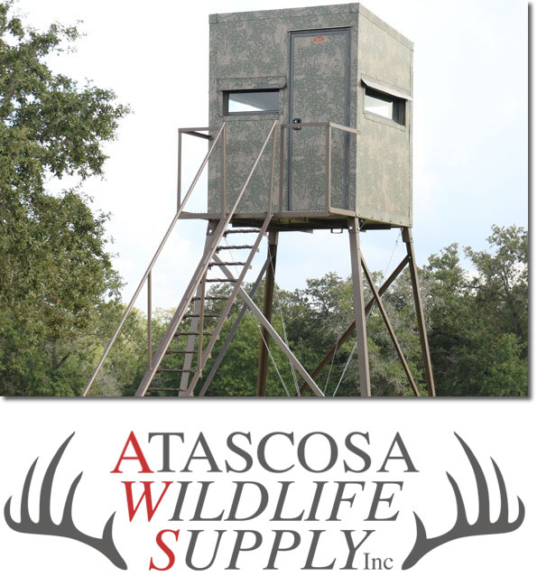 5 X 5 X 10 Foot Fiberglass Deer Stand By Atascosa Wildlife