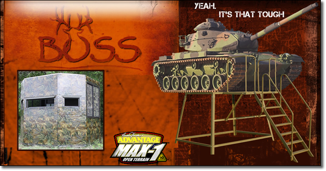 BOSS Game Systems Deer Stands