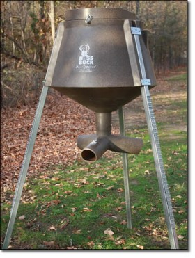 spin sale spincast steel for deer gravity feeder automatic fed feeders