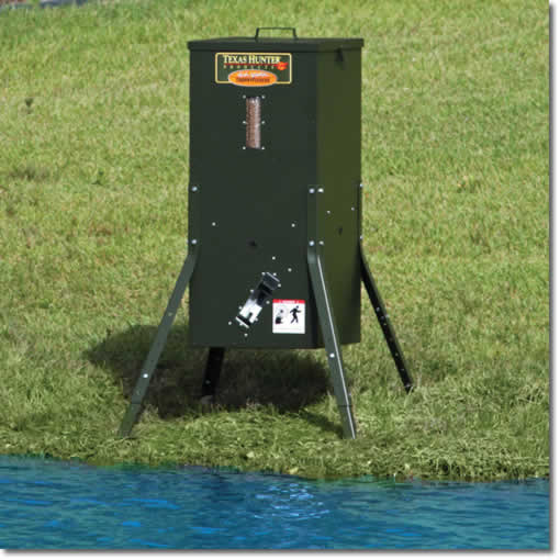 Texas Hunter Fish Feeder Is A High Efficiency Directional
